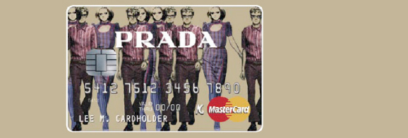 PRESENTATION & CREDIT-CARDS / PRADA