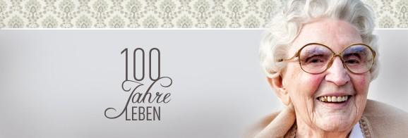 CORPORATE DESIGN & AUSSTELLUNG / 100 JAHRE LEBEN