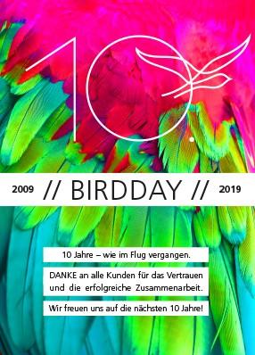 10. BIRDDAY